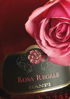 Rosa Regale by Banfi  I love this Crisp Berry Rose flavor when I am celebrating.  To me it is beautiful, sweet, and befitting many exciting moments my life.