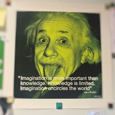 """Imagination is more important than knowledge. Knowledge is limited. Imagination encircles the world"" Albert Einstein #imagination #world #einstein #alberteinstein #quotes #entrepreneurship #emprendimiento #emprendedores #entrepreneurs"