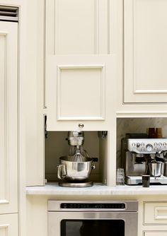 Small Appliance Storage; Luxury Living Show Dream Kitchen 2010 | Atlanta Homes & Lifestyles