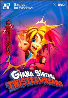 Giana Sisters: Twisted Dreams PC Game Free Download Full Version Giana Sisters, Free Games, Pc Games, Retro Games, Movie Posters, Dreams, Film Poster, Popcorn Posters, Film Posters