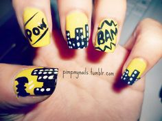 Batman nails from Marie K.!