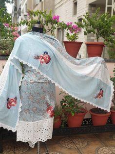 Embroidery Suits, Hand Embroidery Designs, Customised Clothes, Punjabi Suit Boutique, Pakistani Fashion Casual, Cotton Suit, Indian Designer Wear, Punjabi Suits, Fashion Dresses
