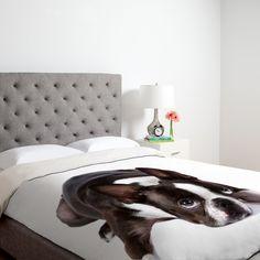 Boston terrier bed spread