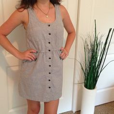 Forever 21 Dresses & Skirts - Racerback, front buttoning dress.