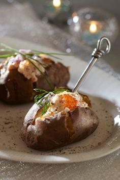 Mätitäyte uuniperunoille | K-ruoka #juhlapöytään