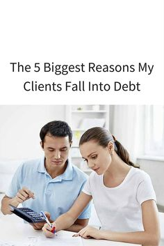While there are times when people fall into debt for unavoidable reasons, I do notice a lot of people fall into debt for the same reasons.