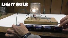 Light bulb from pencil lead-Science Activities