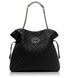 I need another black purse like I need a hole in the head. But, I really love this Tory Burch.