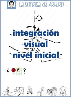 ¿ Qué ves ? Más fichas Occupational Therapy, Speech Therapy, Perception, Life Skills Activities, Sensory Integration, Pre Writing, Teacher, Study, Learning