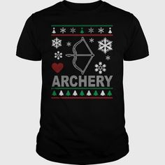 Ugly Archery Christmas Design Order HERE ==> https://www.sunfrog.com/Sports/Ugly-Archery-Christmas-Design-Guys-Black.html?53624 Please tag & share with your friends who would love it  #jeepsafari #xmasgifts #superbowl