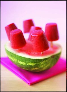 Watermelon Pops | KitchenDaily.com