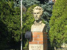 Petőfi-mellszobor - Battonya (Búza Barna, 1982)   Köztérkép