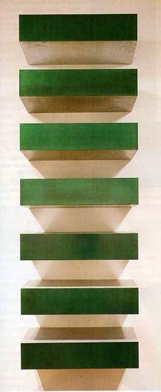 Donald Judd, 1967 http://decdesignecasa.blogspot.it