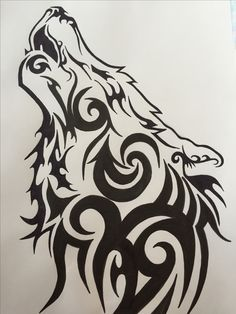 #wolf #tribal