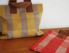 linen&wool / woven bags