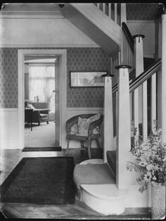hallway - like these banisters