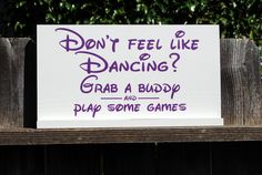 Wedding Reception decor wood sign Dont Feel Like by SignsToLiveBy, $46.00