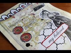 'She' Art Journal Page - Heart Journaling Video #3 - YouTube