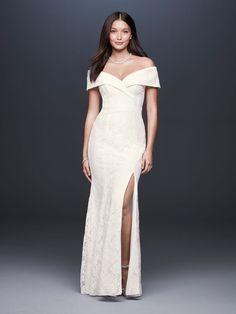 1a2adbc093b DB Studio Spring 201 www.mccormick-weddings.com Virginia Beach Gown With  Slit