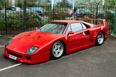 Ferrari F40 – I feel in love with this car when I was a kid. It is the reason to dream. The most beautiful supercar ever. Built in an era before Ferrari became a mass producer of computer designed sports cars with a brand name attached to them.