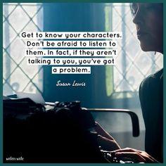 Quotable – Susan Lewis - Writers Write