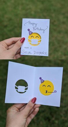 Bday Cards, Happy Birthday Cards, Birthday Greetings, Birthday Wishes, Card Birthday, Birthday Ideas, Creative Birthday Cards, Birthday Quotes, Origami Birthday Card
