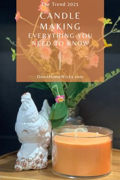 If you want to learn how to make scented candles at home that are cheaper than buying them, try a weekend candle-making kit for a beginner. #candlemaking #DIYcandles #crafts