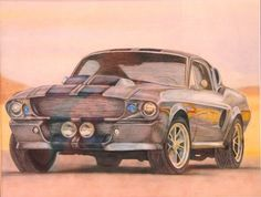 Shelby drawing for my brother