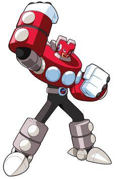 MagnetMan.EXE from Mega Man Battle Network 5