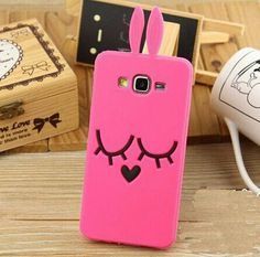 Cute Bunny Rabbit Cartoon Case for Samsung Galaxy Cute Cartoon Lovely Shy Rabbit Case Bunny Soft Silicon Cover For Samsung Galaxy 2016 & & & soft and lovely cartoon cases. Phone Accesories, Cell Phone Accessories, Phone Cases Samsung Galaxy, Iphone Cases, Samsung Grand Prime, Coque Samsung J3 2016, Finger Print Sensor, Silicone Phone Case, Cute Phone Cases