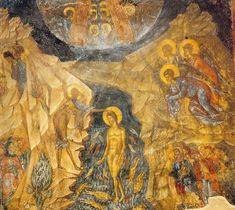 Christian Calendar, Baptism Of Christ, Spirit Bear, Russian Icons, Hermitage Museum, Byzantine Icons, John The Baptist, Orthodox Icons, Sacred Art