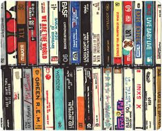 Cassettes by Hollis Brown Thornton