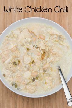 White Chicken Chili Recipe on 5DollarDinners.com