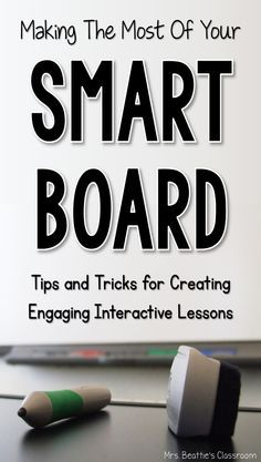 Lecturing and explaining has never been more fun. The Smart Board is the latest version of a chalkboard. Using this board can get the children's attention while helping the teacher during her lessons.