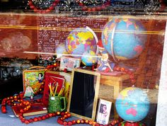 Window Display Ideas for back to school | back to school window | Flickr - Photo Sharing!