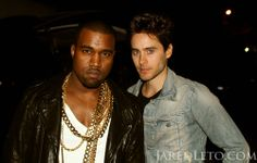 JARED LETO.-   Flashback  ME + @Royal Kanye West AT LOLLAPALOOZA CHILE (via http://jaredleto.com/thisiswhoireallyam/2011/04/14/me-kanyewest-at-lollapalooza-chile/