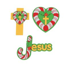 Inspirational Candy Cane Magnet Craft Kit - OrientalTrading.com