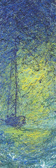 Jackson Pollock Painting - Calm by Ash Hussein Action Painting, Drip Painting, Matte Painting, Pollock Paintings, Oil Paintings, Jackson Pollock Art, Famous Modern Art, Tears Art, Steinmetz
