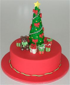 decorated holiday cakes | In order to create this cake you will need;