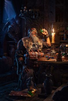 BY: Wuling........... Orphan and the jeweler....ZBRUSH...... Click on image to enlarge...