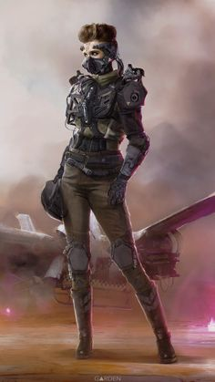 ArtStation - Pilot, Tom Garden