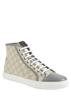 Gucci 'California' High-Top Sneaker (Men) available at #Nordstrom