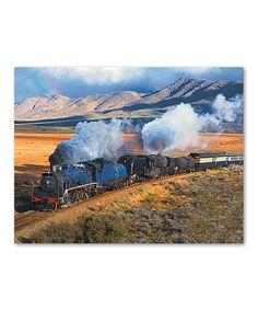 Train Trek Jigsaw Puzzle #zulily #zulilyfinds