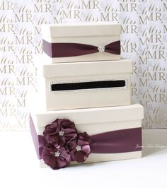 Unique Wedding Card Box Holder Money Gift
