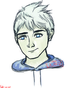 Drawing of jack frost from rise of the guardians!