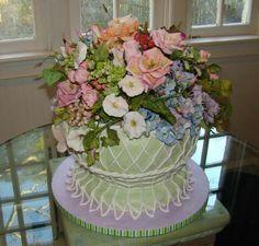 Cake by Wildflowers. Just beautiful!