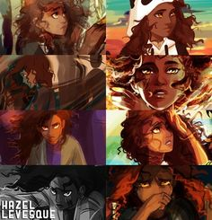 Hazel Solangelo, Percabeth, Heroes Of Olympus Characters, Fictional Characters, Hazel And Frank, Daughter Of Poseidon, Team Leo, Hazel Levesque, Percy And Annabeth
