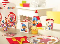 Pocoyo Party Packs -- lots of fun birthday themes