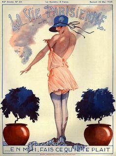 Georges Léonnec (1881 – 1940). La Vie Parisienne, 15 Mai 1926. [Pinned 6-ii-2015]
