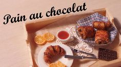 Polymer clay tutorial; French breakfast, Pain au chocolat